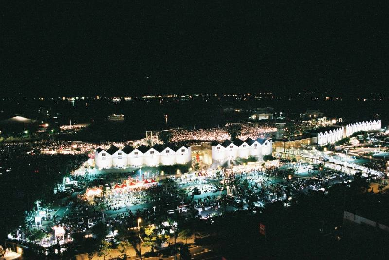 H18.8.19 サマーナイト大花大会 (鹿児島新港埠頭)